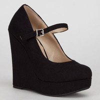 DELICIOUS Finch Womens Wedges
