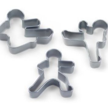 Fred and Friends NINJABREAD MEN Cookie Cutters, Set of 3
