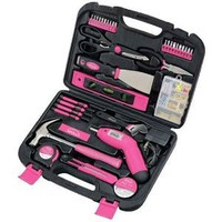 Amazon.com: Apollo Precision Tools DT0773N1 135-Piece Household Pink Tool Kit: Home Improvement