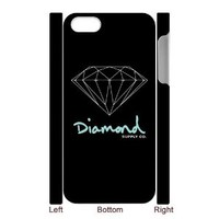 Diamond Supply Co Custom Case for 3D Iphone 5/5s
