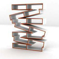 Crinkled Plywood Shelves - The &#x27;Pallet&#x27; Shelf by Baita Design Looks Like a Stack of Pallets (GALLERY)