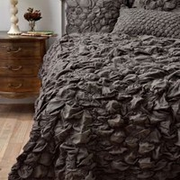 Catalina Quilt, Charcoal - Anthropologie.com
