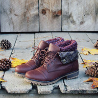 Nor'wester boots in brown | Spool No.72
