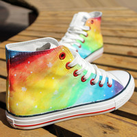 Colorful canvas shoes  from psiloveyoumoreboutique