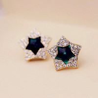 Twinkle Star Earrings 061003 from psiloveyoumoreboutique