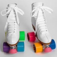 Colorblock Roller Skates | Shop Novelties Now | fredflare.com