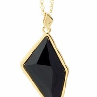 Belle Noel by Kim Kardashian GlamRock Pendant Necklace in Black