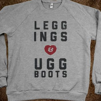 LEGGINGS AND UGG BOOTS
