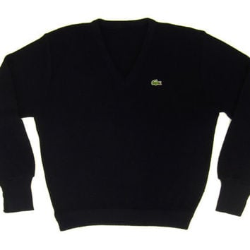 sale vintage izod lacoste sweater in from ivyleaguevintage on. Black Bedroom Furniture Sets. Home Design Ideas