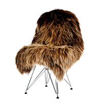 The Organic Sheep: Sheepskin Longhair Dusty Brown, at 32% off!