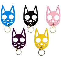 Cat Self Defense Keychain | Wicked Clothes