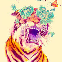 Tropicalia - Giclée Print by Mathiole
