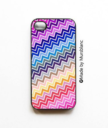 Chevron iPhone 4 or 4S Case  Whimsical Zig Zag by HipsterCases