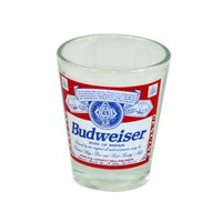 Budweiser Logo Shot Glass Your favorite online gift shop!