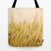 Wild Wheat Tote Bag by Around the Island (Robin Epstein)