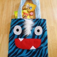 Monster Trick or Treat Tote!  from Lu & Ed