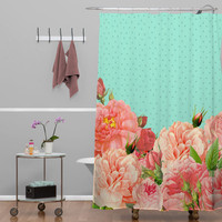 DENY Designs Home Accessories | Allyson Johnson Sweetest Floral Shower Curtain