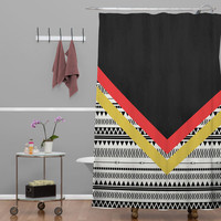 DENY Designs Home Accessories | Allyson Johnson Mixed Aztec 2 Shower Curtain