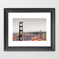 It's in the Water Framed Art Print by Bianca Green
