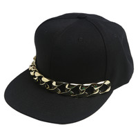 Chain Link Flat Bill Cap | Shop Just Arrived at Wet Seal