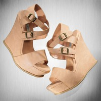 Simply Vera Vera Wang Platform Wedge Sandals
