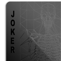 MollaSpace - Black Playing Cards