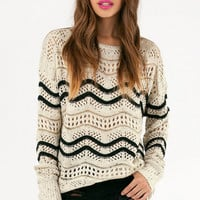Knit Flow Sweater $51