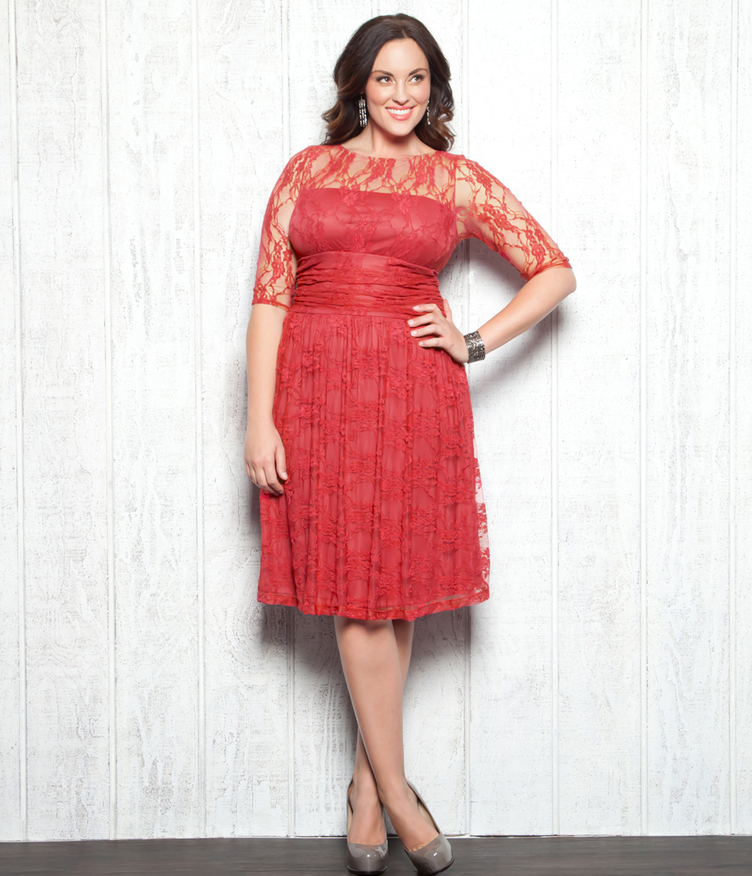 plus size bridesmaid dresses coral