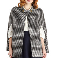 Plethora of Poise Cape | Mod Retro Vintage Jackets | ModCloth.com