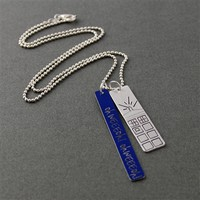 Doctor Who Theme Necklace - Spiffing Jewelry