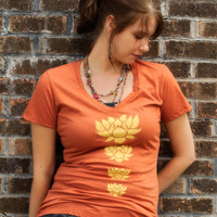 NEW! Lotus Stack Recycled T-Shirt: Soul-Flower Online Store