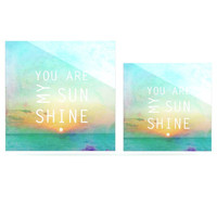 "Alison Coxon ""You Are My Sunshine"" Luxe Square Panel 