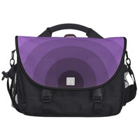 Purple Target Commuter Laptop Bag