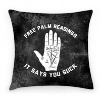 Free Palm Readings It Says You Suck