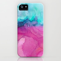 Tidal II iPhone & iPod Case by Jacqueline Maldonado