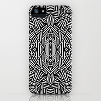 Radiate (BW) iPhone & iPod Case by Jacqueline Maldonado