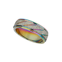 Iridescent Silver Ring - New In This Week  - New In