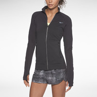 The Nike Luxe Seamless Women's Running Jacket.