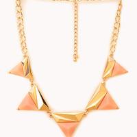 Modernist Geo Pendant Necklace