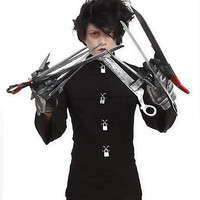 Edward Scissorhands Deluxe Gloves | Hot Topic