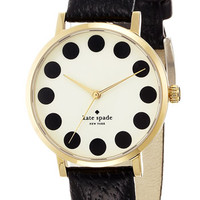 kate spade new york 'metro' patterned dial w