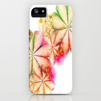 Fractal Flora iPhone & iPod Case by Ally Coxon