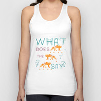 FOX by Monika Strigel and NIKA Unisex Tank Top by Nika