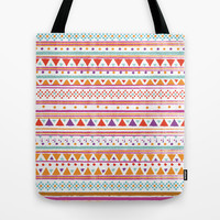 NATIVE BANDANA Tote Bag by Nika