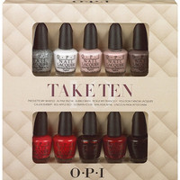 OPI Take Ten Mini 10pc Ulta.com - Cosmetics, Fragrance, Salon and Beauty Gifts