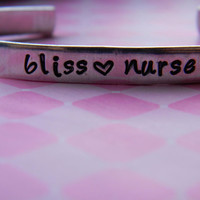 bliss nurse bracelet 1/4 inch wide