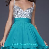 La Femme 16813 | Terry Costa: Prom Dresses Dallas, Homecoming Dresses, Pageant Gowns