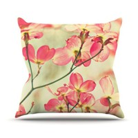 KESS Global Inc. Kess InHouse Sylvia Cook Throw Pillow, 16 by 16-Inch, Morning Light