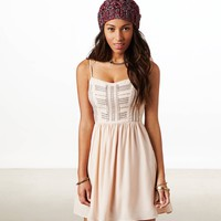 AE Beaded Corset Dress | American Eagle Outfitters