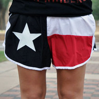 Tech Colors Texas Flag Shorts
